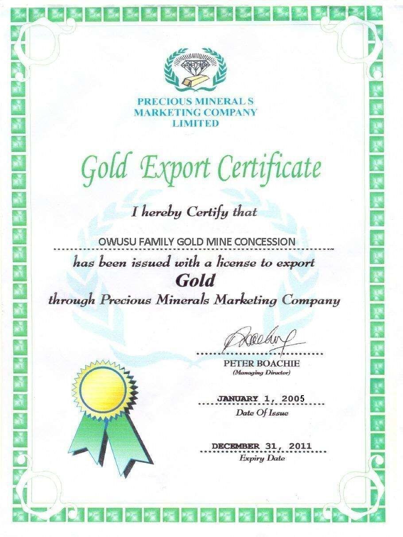 Ghana Gold Scam